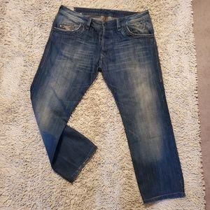 Diesel Busky Button Fly Jeans W36 L cut to 28